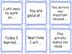 Turn & Talk Sentence Starters - Reading