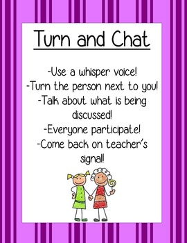 Turn and Chat Poster