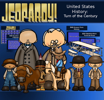 Turn of the Century Jeopardy Game
