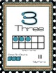 Turquoise, Burlap, and Black and White Dots Classroom Deco