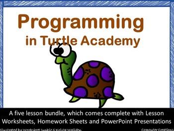 Turtle Academy Logo Coding Programming Bundle