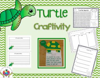 Turtle Craftivity and Writing