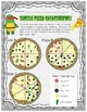 Turtle Ninja Pizza Fractions (Add/subtract fractions with