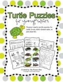 Turtle Puzzles for Young Solvers - 20+ puzzles and a bonus game