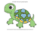 Turtle Time Accent Cutouts – Coordinates with Turtle Time