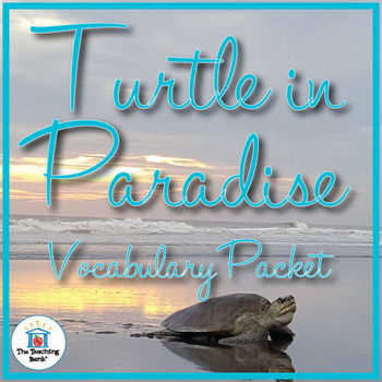 Turtle in Paradise Vocabulary