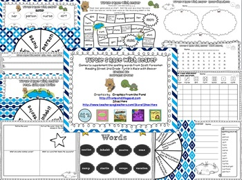 Turtle's Race with Beaver Spelling and Vocabulary Games