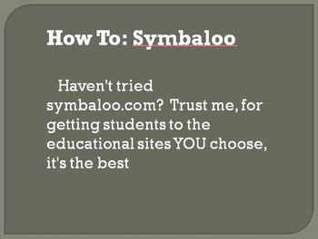 Tutorial (Setting up a symbaloo.com account)