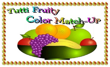 Tutti fruity color match-up