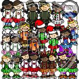 Tutu Holidays Through the Year Clipart Bundle