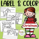 Twas the Night Before CHRISTMAS Label and Color