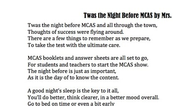 'Twas the Night Before Testing