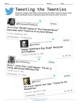 Tweeting the Twenties
