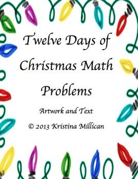 Twelve Days of Christmas Math