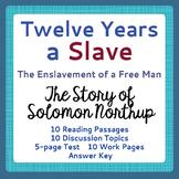 Black History Twelve Years a Slave
