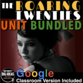 1920s Unit - PPTs w/Video Links, Primary Source Docs, Less