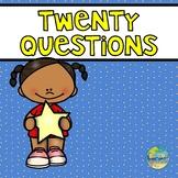 Twenty Questions for Preschoolers