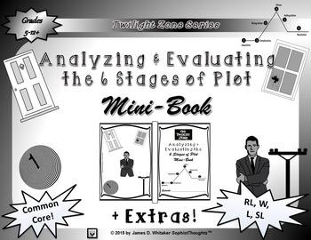 Twilight Zone 6 Stages of Plot Mini-Book Unit Resource Com