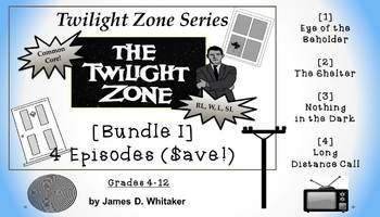 Twilight Zone Unit Resource Bundle 1: 4 Episodes Rod Serli