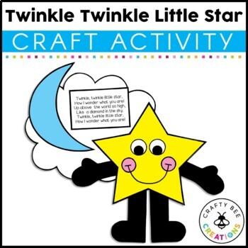 Twinkle Twinkle Little Star Cut and Paste