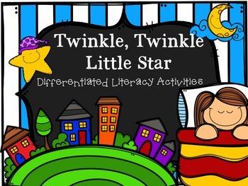 Twinkle Twinkle Little Star Literacy Activities