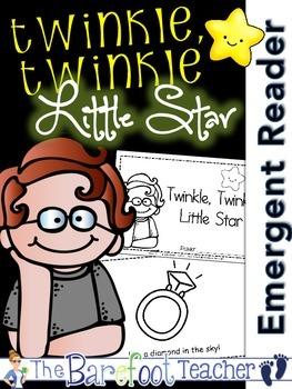 Twinkle, Twinkle, Little Star Nursery Rhyme Emergent Reade