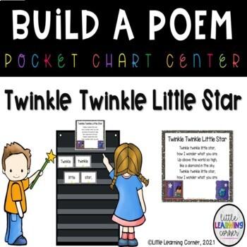 Build a Poem ~ Twinkle Twinkle Little Star