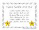 Twinkle Twinkle Little Star Shared Reading