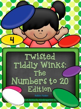 Twisted Tiddly Winks: Numbers to 20