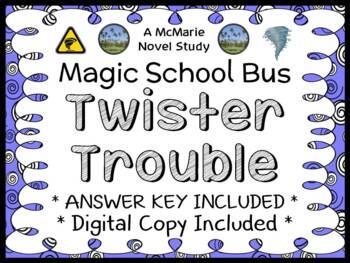 Twister Trouble (Magic School Bus #5) Novel Study / Compre