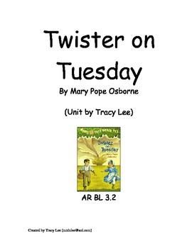Magic Tree House: Twister on Tuesday