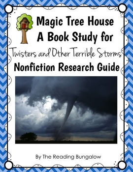 Twisters and Other Terrible Storms {Magic Tree House Nonfi