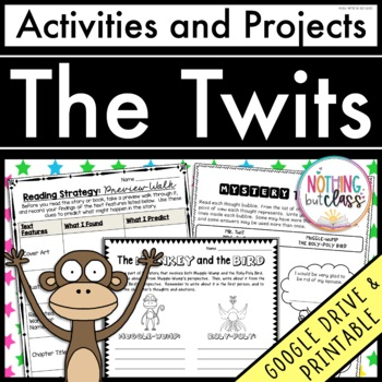 The Twits: Reading Response Activities and Projects