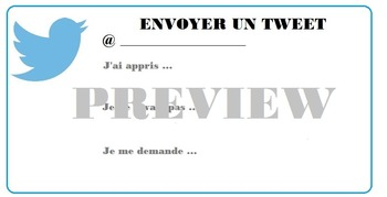 Twitter Exit Card - FRENCH
