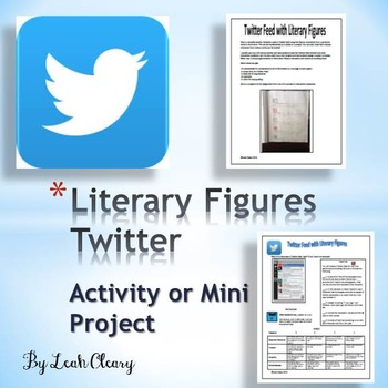 Twitter Feed Activity for Literature