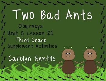 Two Bad Ants Journeys Unit 5 Lesson 21 Third Grade 2012 Su