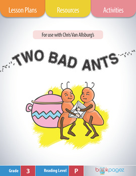 Two Bad Ants Lesson Plans & Activities Package, Third  Gra