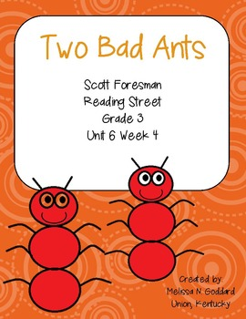 Two Bad Ants : Reading Street : Grade 3