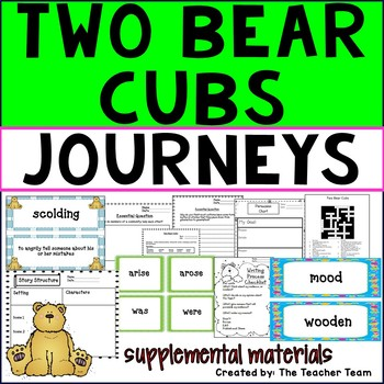 Two Bear Cubs Journeys Third Grade Supplemental Materials