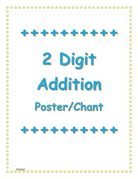 Two Digit Addition Poster/Chant