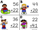 Two Digit Addition SCOOT (Without Regrouping)