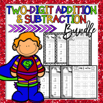 Two Digit Addition, Two Digit Subtraction, Envision Math,