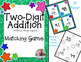 Two-Digit Addition Matching Game (no regroup!)