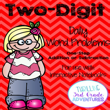 Two-Digit Addition and Subtraction Word Problems (Interact