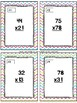 Two-Digit Multiplication Task Cards & Game