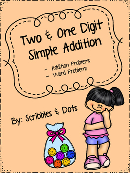 Two and One Digit Simple Addition