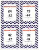Two-Digit Subtracting Task Cards