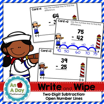 Two-Digit Subtraction using Open Number Lines