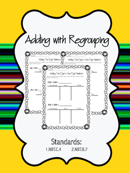 Two-Digit, Three-Digit Addition with Regrouping