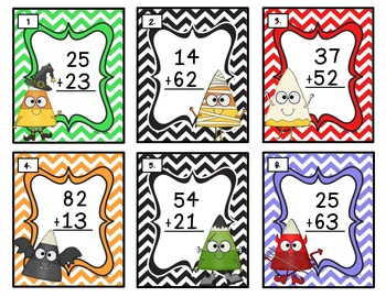 Two Digit Treats! Addition without Regrouping